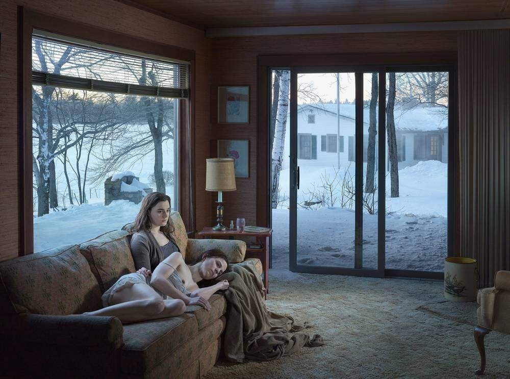 Gregory Cfrewdson, Mother and Daughter. 2014