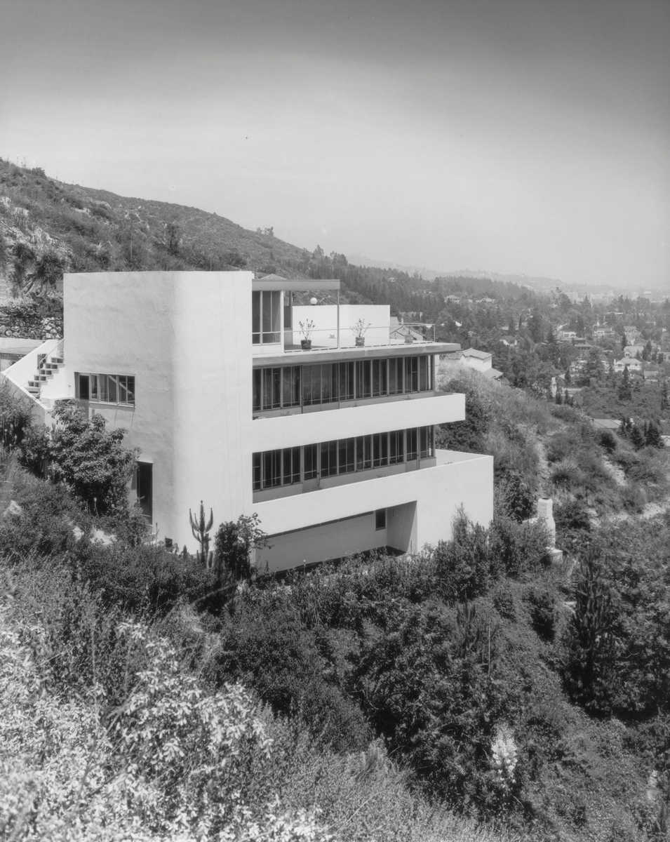Kun House 1 - Richard Neutra - Julius Shulman