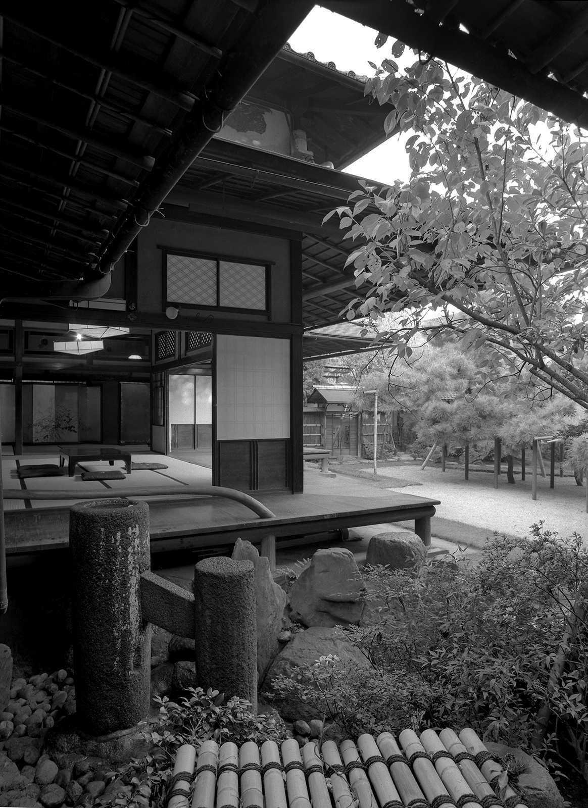 Guest Room, Sumiya Geisha House, Kyoto, 1980.