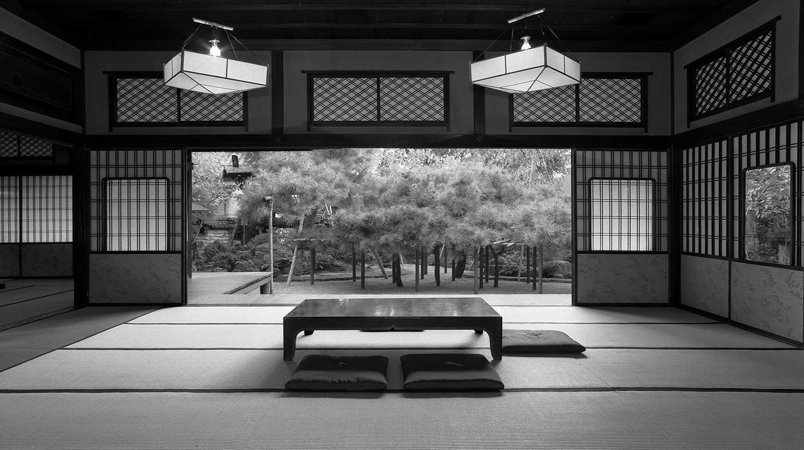 Guest Room Interior, Sumiya Geisha House, Kyoto, 1980.