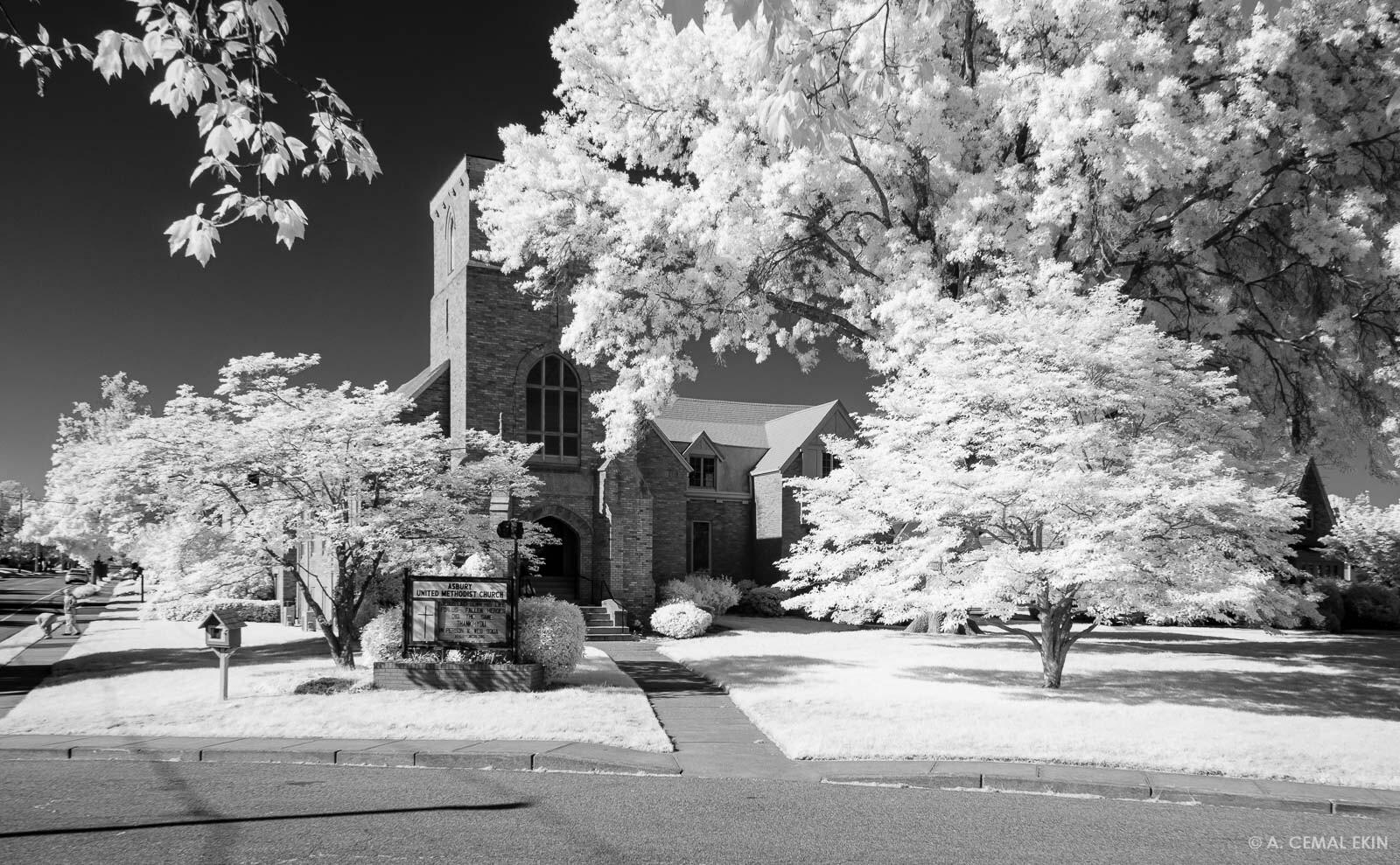 Asbury United Methodist Church, infrared