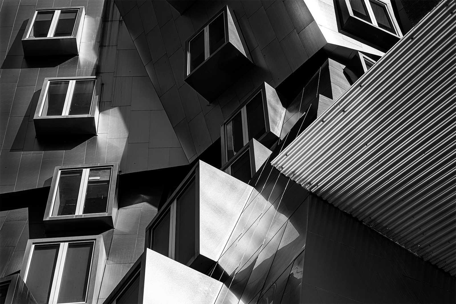 Cubist Architecture by Larry Dunn