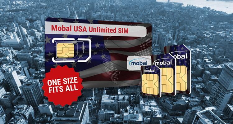 Mobal SIM USA Unlimited