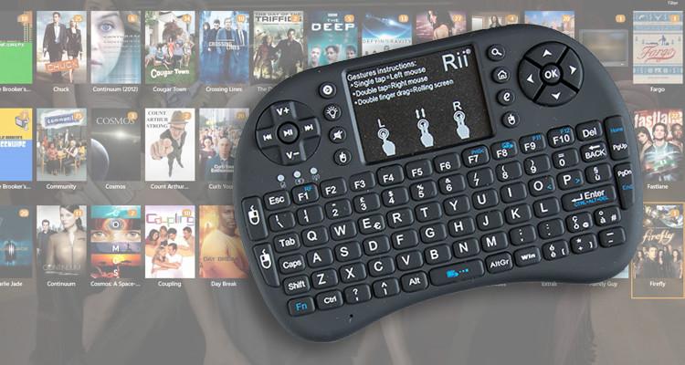 Tastiera Rii i8 wireless