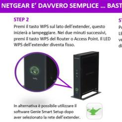 Netgear WN2000RPT-100PES - Installazione