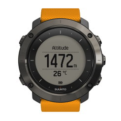 Suunto Traverse - display altitudine