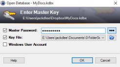 Gestire le password con KeePass - Login