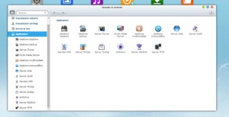 Alcune delle applicazioni/servizi disponibili