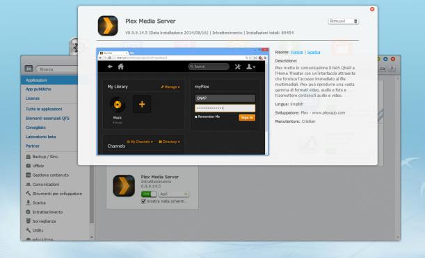 Plex Server per QNAP