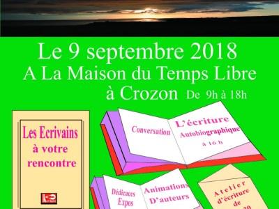 Rendez-vous Quai des Ecrits le 9 septembre 2018