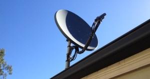 επισκευή δορυφορικού πιάτου