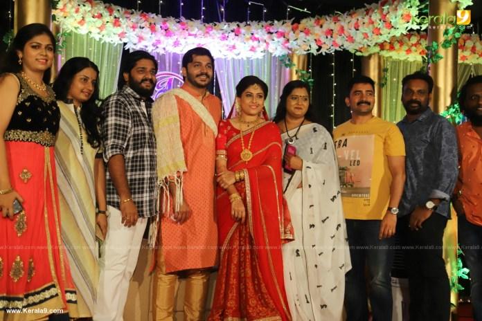 Anjali Nair Brother Ajay Wedding Reception photos 041