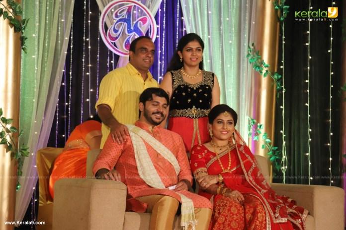 Anjali Nair Brother Ajay Wedding Reception photos 074