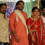 Hari P Nair at Anjali Nair Brother Ajay Wedding Reception photos 052