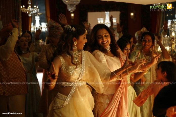 Kalyan Jewellers ad shoot Behind the Scenes photos