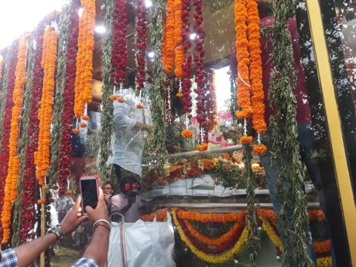 Meghana Raj Husband Chiranjeevi Sarja Funeral Photos 017