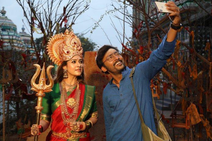nayanthara new movie Mookuthi Amman stills