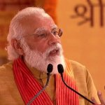 Narendra Modi lays foundation stone for Ayodhya Ram Temple