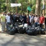 Cochin Adventure Foundations' anti plastic campaign