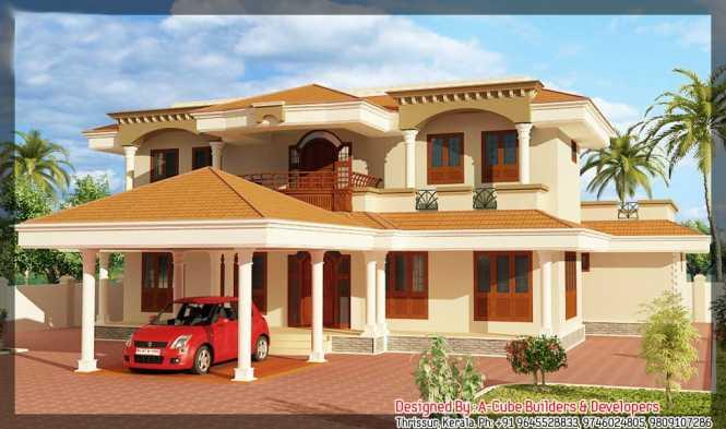 Latest Kerala Home Plan At 2400 Sq Ft