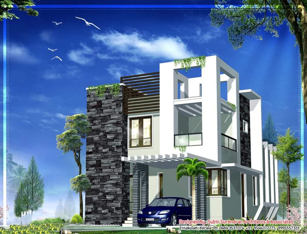 Affordable Modern Kerala House Design At 1230 Sqft