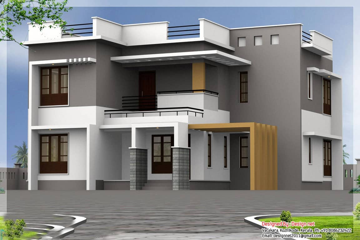 Modern Kerala Home Design At 2500 Sq Ft