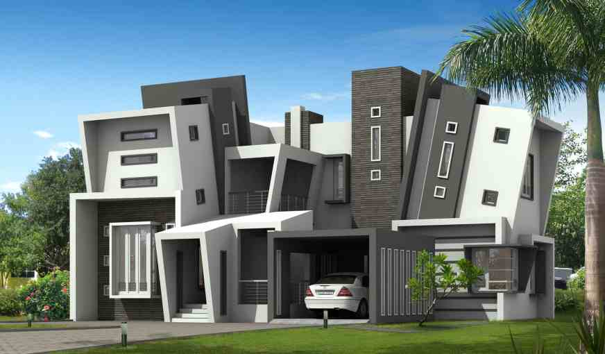 Unique Kerala style home design with Kerala house plans ...