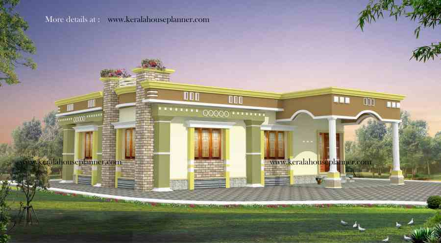 Kerala House Plans 1200 sq ft with Photos   KHP Advertisement