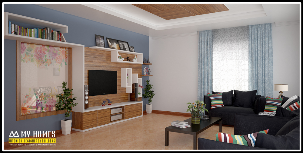 Latest Modern House Interior Living Room Designs Kerala Style Part 37