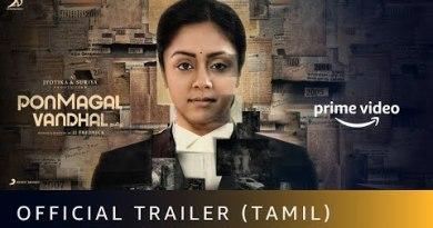 Ponmagal Vandhal - Official Trailer | Jyotika, Suriya | Amazon Prime Video