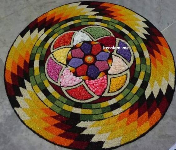 Onam Pookalam Design 97