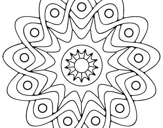 onam pookalam designs outline - 14