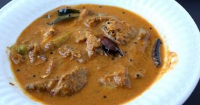 Unakka Meen Kari - Sun-dried Fish Curry