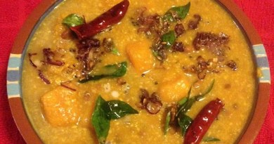 Beans & Butternut Squash (Red Beans & Squash in Coconut Sauce)