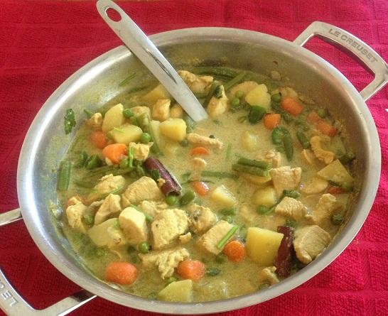 Chicken Stew (Chunks of Chicken & Veggies)