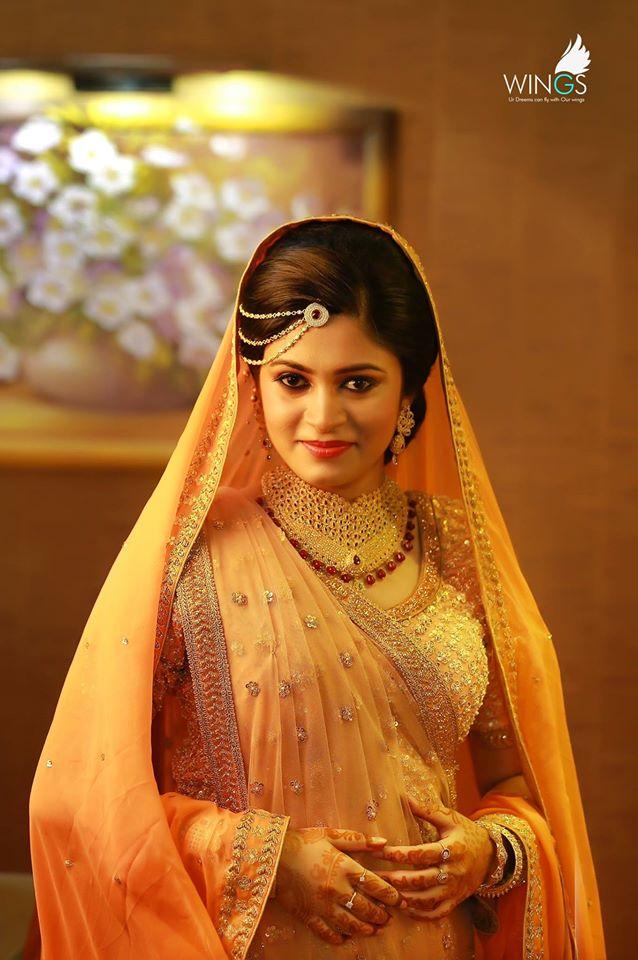Wedding Dresses For Muslim Brides In Kerala Wedding