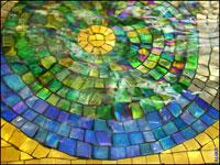 стеклянная мозаика, смальта