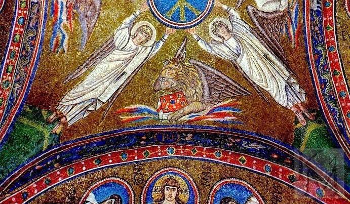 Самые известные мозаики в мировом искусстве.