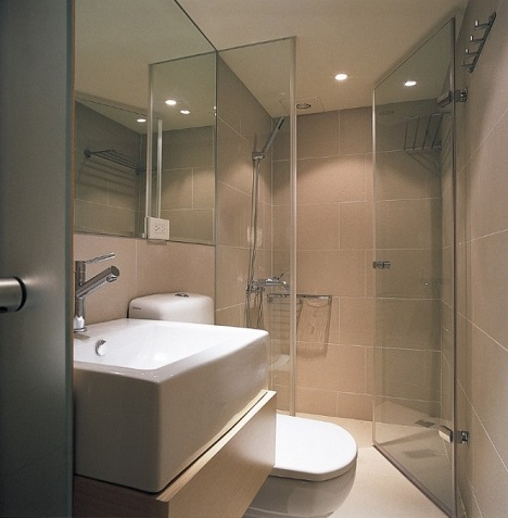 дизайн маленькой ванной комнаты
