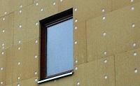 Монтаж утеплителя при утеплении фасада дома
