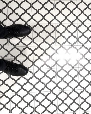 floor tile arabesque meknes 20x20 cm