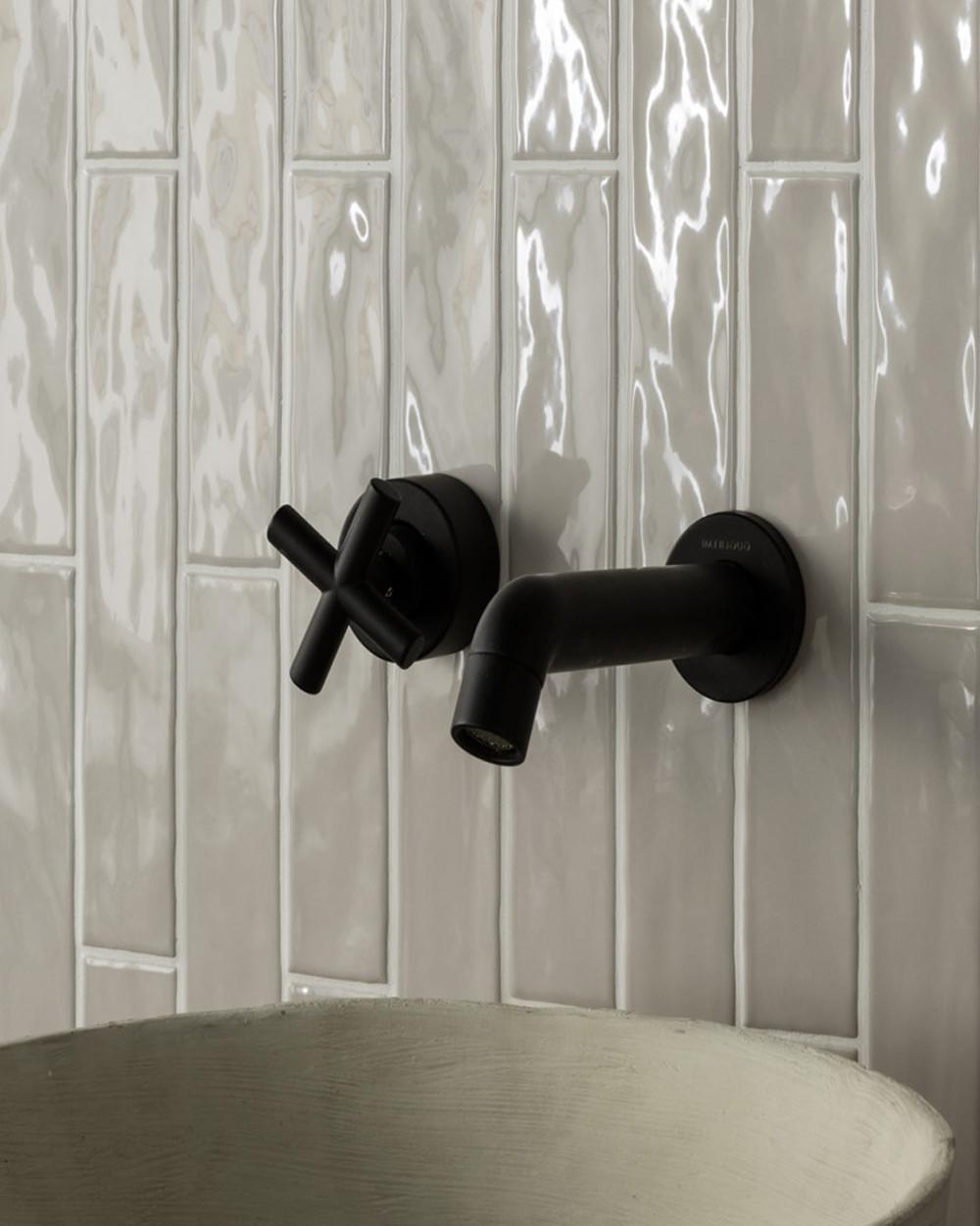 kyushu 5x25 cm brick effect wall tiles grigio glossy tiles online shop