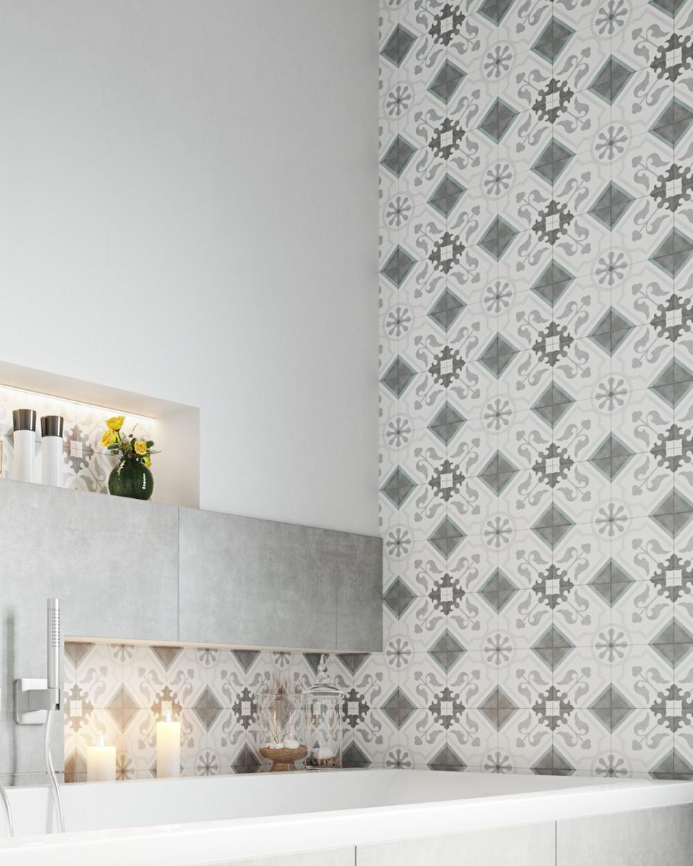 frame15 decor chic arrow 15x15 cm tiles for floor and wall tiles online shop