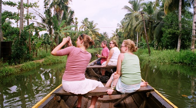 Family holiday in kerala backwaters