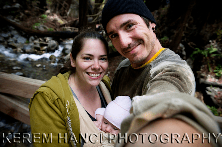 hiking in big sur california with an infant
