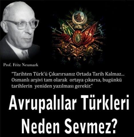 Avrupa Türkleri Neden Sevmez