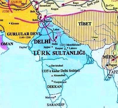 Kölemen Hanedanlığı- Delhi Sultanlığı