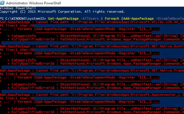 Windows 10 Mağaza Açılmıyor Çözümü