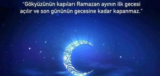 Ramazan-ı Şerif Duası