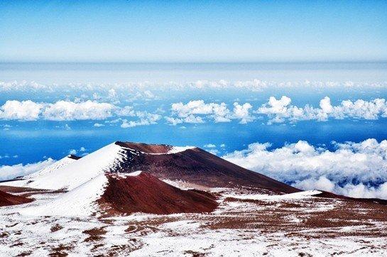 Dünyanın En Yüksek Deniz Dağı Mauna Kea